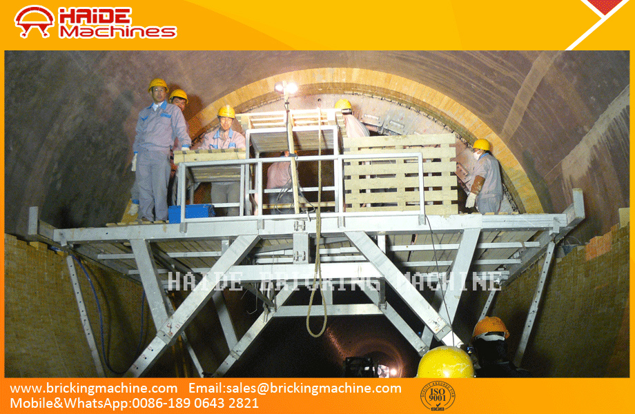 refractory lining machine-cement factory for sale at China,kiln relining refractory brick lining machine for kiln maintenance